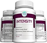 Intensity Male Performance Testosterone Booster - for Energy, Increased Stamina and Endurance with Tribulus L-Arginine Maca Tongkat Ali Zinc Oyster Extract Pumpkin Seed 60 Tablets - Made in USA