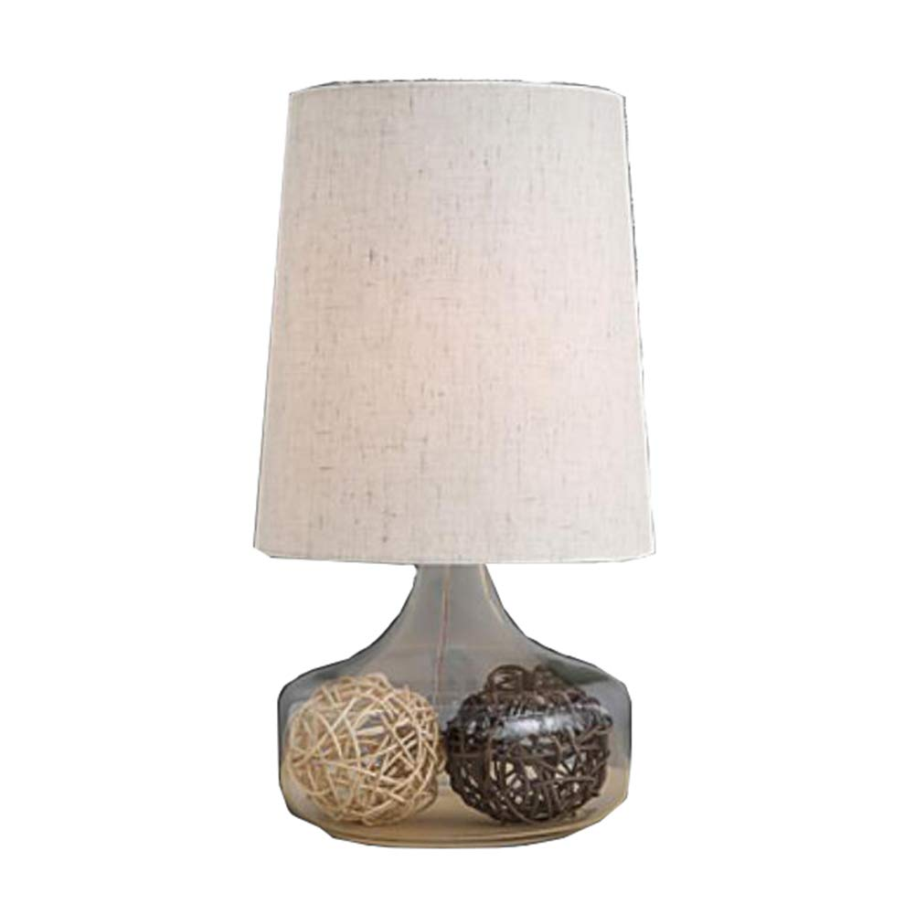 AFFC Kreative Nachttischlampe, Tischleuchte Aus Glas, 110-120V 220-240V Für Schlafzimmer, Arbeitszimmer, Hotel
