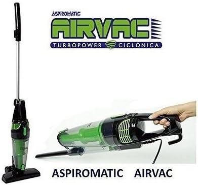 Top SHOP XSQUO Airvac aspirador ciclónico 2 en 1 Airvac 1000 W sin bolsa · tamaño: 1100 x 245 x 18 cm · Peso: 2.2 kg · aspirador ciclónico de 1000 W