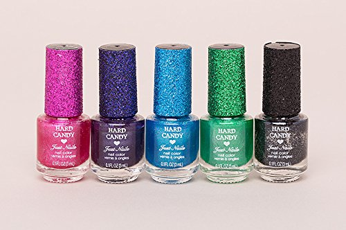 hard candy ombre color waves (5) .1 glitter nail polish a (1) glitter nail file