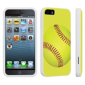 DuroCase ? Apple iPhone 5 / iPhone 5s Hard Case White - (Softball)