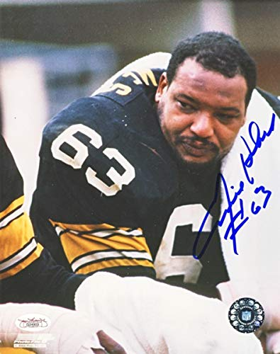 76077162f04 Image Unavailable. Image not available for. Color: Ernie Holmes Autographed  Pittsburgh Steelers ...