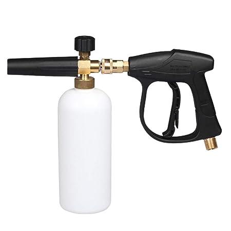 PXQ Lavadora de Alta presión Pistola de Espuma de Nieve Ajustable ...