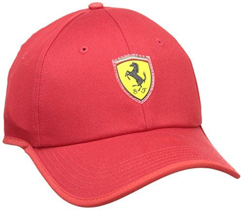 Corsa Hombre Puma rojo talla Rosso Ferrari única diseño Cap flowback 052897 0w0qr1X