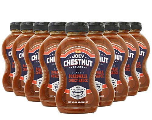 Joey Chestnut Boardwalk Coney Sauce Case (9 ()