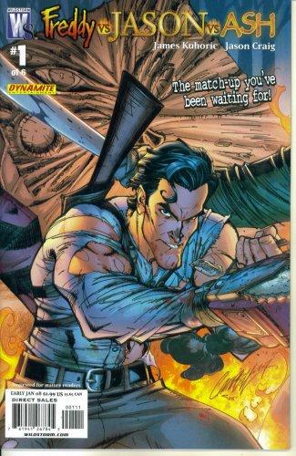 Freddy Vs. Jason Vs. Ash #1 (Wildstorm - DC Comics) (Wolverine Vs Spiderman Vs Hulk Vs Batman)