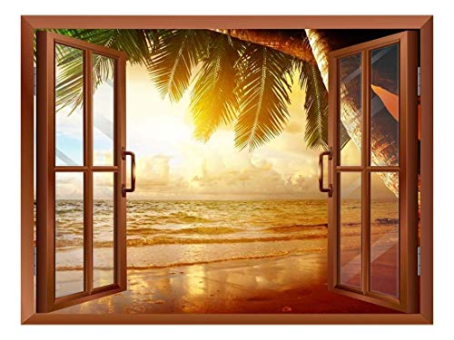 Sunrise on The Oceanside Removable Wall Sticker Wall Mural