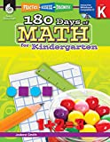 img - for 180 Days of Math for Kindergarten (180 Days of Practice) book / textbook / text book
