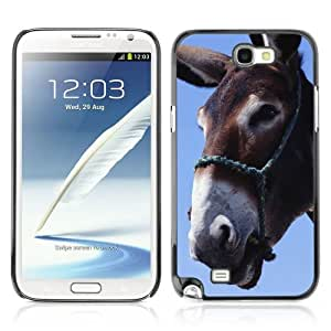 YOYOSHOP [Funny Donkey Art] Samsung Galaxy Note 2 Case by lolosakes