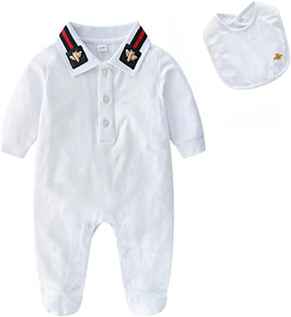 BABIFIS Baby Onesies Primavera y otoño Hombre Bebé Otoño Algodón Ropa de bebé Recién Nacido de Manga Larga con Capucha Ropa de Escalada: Amazon.es: Hogar