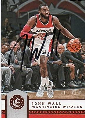 John Wall Autographed Signed Card Washington Wizards -- COA - Kentucky