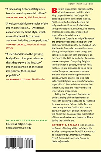 Selling the Congo: A History of European Pro-Empire Propaganda and the Making of Belgian Imperialism