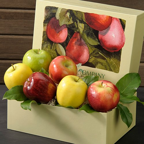 Mixed Apple Medley 4 lb Fruit Gift Box