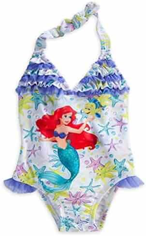 21cae12b92e8d Disney Store Princess The Little Mermaid Ariel Little Girl One Piece  Swimsuit (7/8
