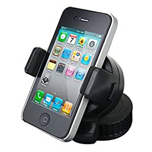 Dragonpad® 360 Degree Swivel Car Windshield Mount Holder Bracket for Iphone 4/4s, Samsung Galaxy, Ther PDA and Smart Mobile Phones