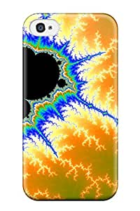 Premium Fractal Heavy-duty Protection Case For Iphone 4/4s