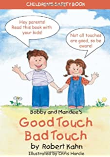 bobby and mandees good touchbad touch childrens safety book - Good Touch Bad Touch Coloring Book