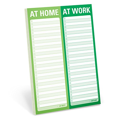 Knock Knock At Home / At Work Perforated Pad