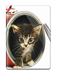 Hot LRRJOxz10382GKVvl Case Cover Protector For Ipad Air- Kitten In A Tin Can