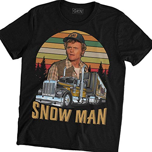 Snow Man Vintage Retro T-Shirt Cledus Smokey and The Bandit