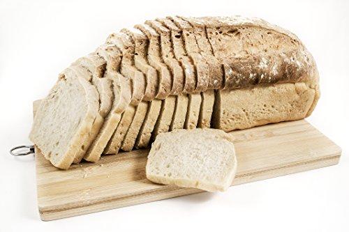 Pan ecológico artesanal con masa madre en horno de leña. Sabor tradicional exquisito. Envío GRATIS 24h. (Pan Integral de Espelta 750gr aprox.