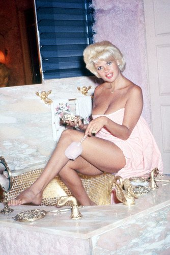 Jayne Mansfield Sexy Pin Up Color Poster from Silverscreen
