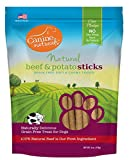Canine Naturals – Natural Beef and Potato Sticks – Grain-Free Dog Treats – 6 oz. Package For Sale