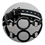 Silicone O Rings Mouth Gag Bondage Restraints Fetish BDSM Sex Products Oral Sex Toys Slave Sex Toy for Women