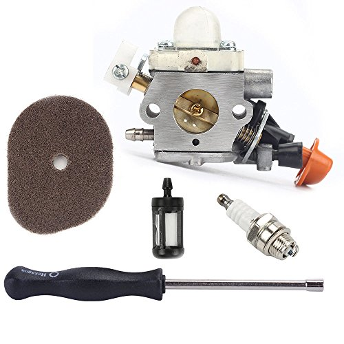 Euros Carburetor Adjust Tool Kit For Stihl FS40 FS50 FS50C FS56 Trimmer Zama C1M-S267A by Euros