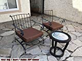 QQbed 6 Pack Outdoor Patio Chair Washable Cushion