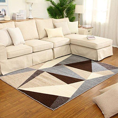 DIDIDD Alfombra de alfombra suave alfombra de la sala de estar dormitorio alfombra del hotel alfombra patrón geométrico...