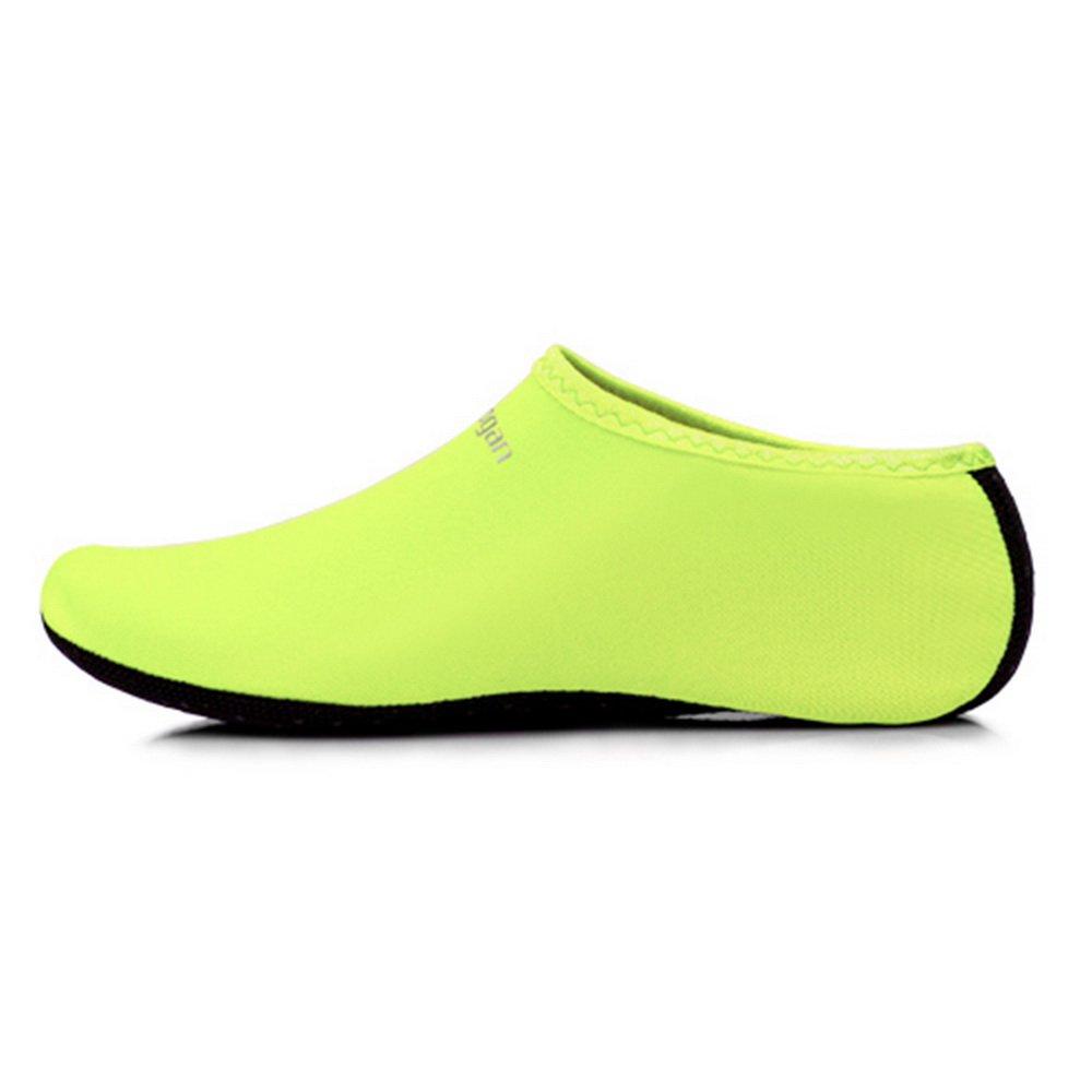 Shujin Chaussures Anti-dérapant de Sport Aquatique Unisex Socquette Adapté Natation/Plongée/Yoga/Chaussettes de Plage Gymnase Piscine E16TU696