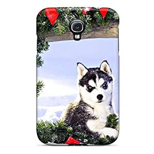 Galaxy S4 Case Cover Adorable Husky Case - Eco-friendly Packaging