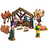 Lemax Table Piece Nativity Set Christmas Figurines Set of 14 (33410)