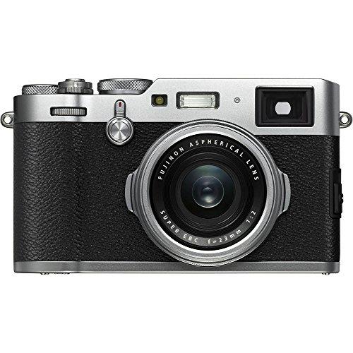 Fujifilm X100F 24.3 MP APS-C Digital Camera - Silver
