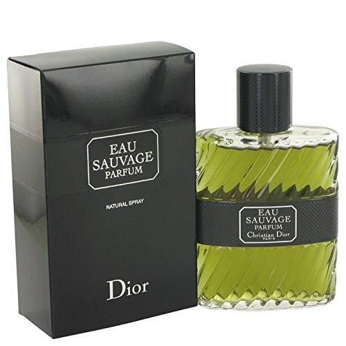 Christian Dior Eau Sauvage Parfum Spray for Men, 3.4 Ounce by Dior