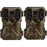 Stealth Cam 8MP No Glo IR Mini Game Trail Hunting Camera, Refurbished (Pair)