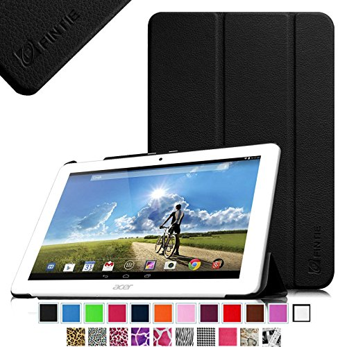 Fintie Acer Iconia Tab 10 A3-A20 Smart Shell Case - Ultra Slim Cover for Acer Iconia Tab 10 A3-A20 10.1-Inch HD Android Tablet - Black