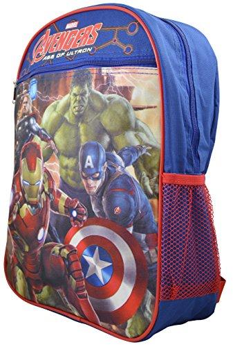 """Marvel - Avengers Kid's 15"""" School Backpack Travel Bag"""