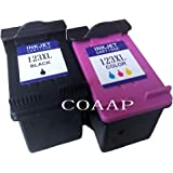 Ink Cartridges - Refilled hp 123 XL Replacement ink Cartridge for hp123 123XL for Deskjet 1110 2130 2132 2133 2134 3630 3632 3637 3638
