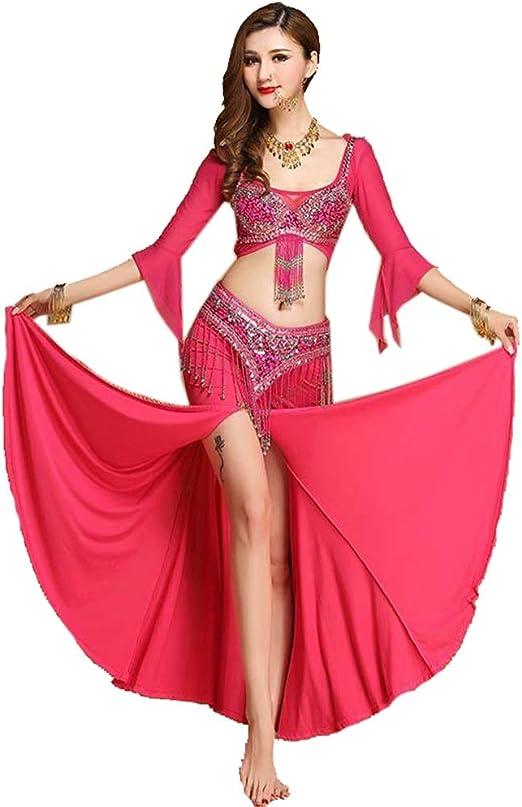 Y-clothing Falda Elegante espectáculo Disfraz de Danza del Vientre ...