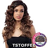 FreeTress Equal Synthetic Hair Lace Front Wig Premium Delux Toby (TSTOFFEE) Review