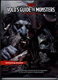 Dungeons & Dragons - Volo's Guide to Monsters (D&D Core Guide / Rulebook) 5th Edition Next