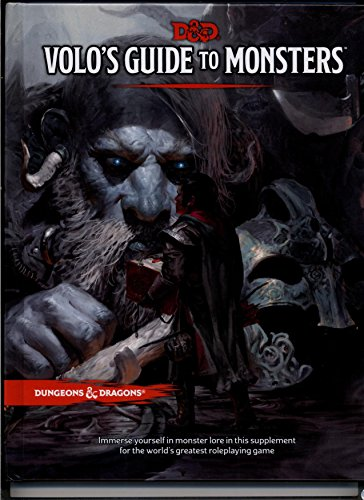 Dungeons & Dragons - Volo's Guide to Monsters (D&D Core Guide / Rulebook) 5th Edition Next by Dungeons & Dragons