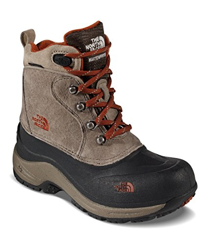 The North Face Youth Chilkat Lace II Boots - Kid's Mud Pack Brown/Sienna Orange 3