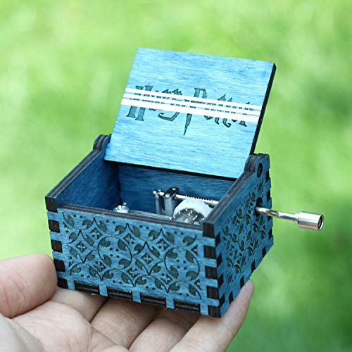 VDV Music Box - 18 Style Antique Carved Game of Thrones Music Box Star Wars Angels Love Beauty Music me a Birthday Present -