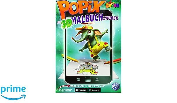 POPIX - Der 3D Malbuch Zauber Nr. 2: Amazon.es: Libros en ...