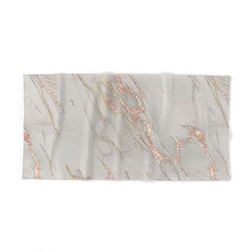 Toalla de baño de mármol de Color Rosa Dorado y mármol metálico DE 31,5 x 51,2 Pulgadas.: Amazon.es: Hogar