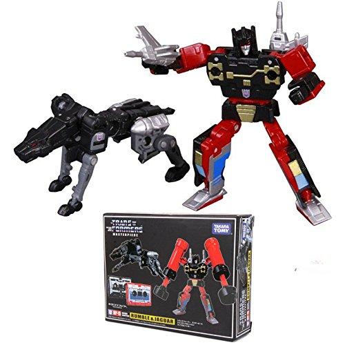 Transformers TAKARA TOMY Masterpiece MP-15 RUMBLE & JAGUAR CASSETTES New KO (Ratchet Costume)