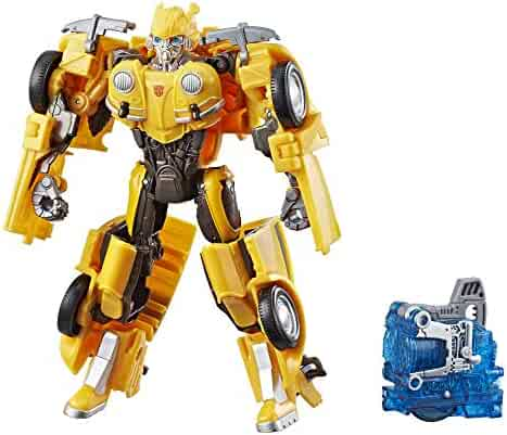 Transformers: Bumblebee Movie Toys, Energon Igniters Nitro Bumblebee Action Figure - Included Core Powers Driving Action - Toys for Kids 6 and Up, 7-inch